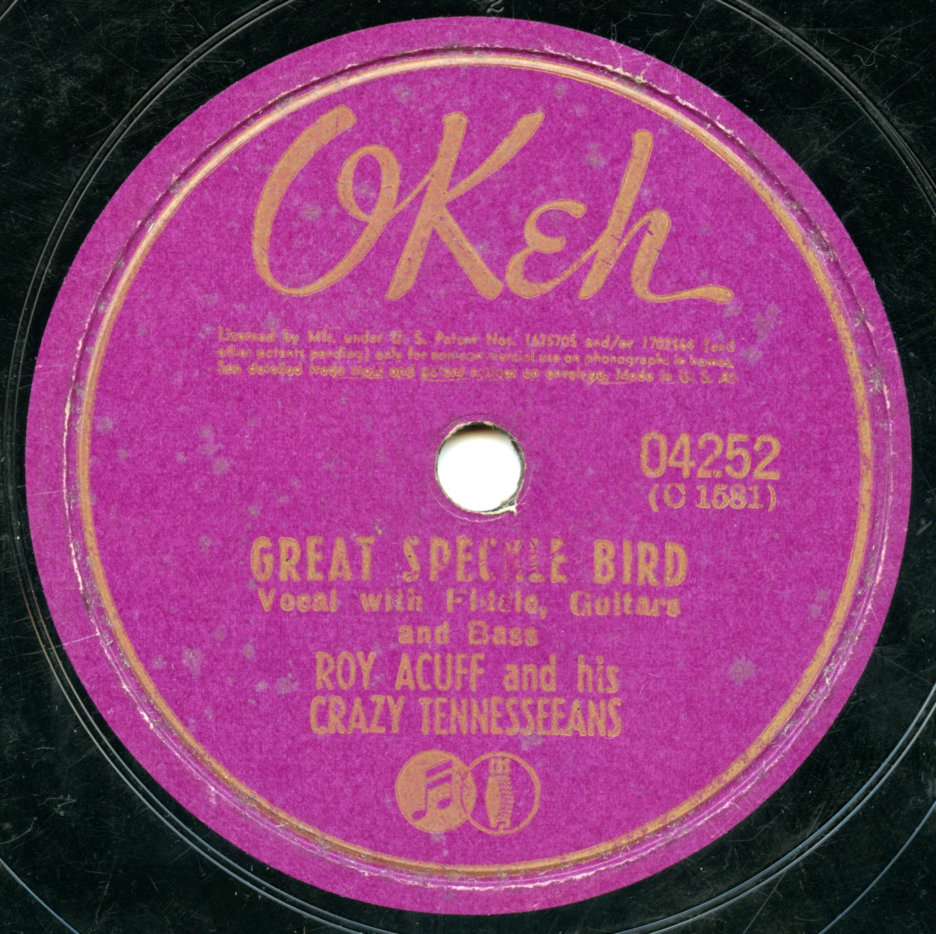The Great Speckle Bird